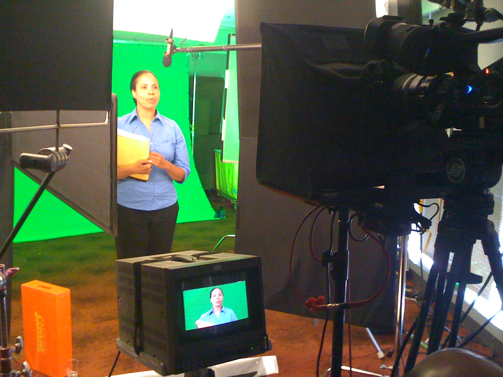 Green Screen Through the Lens