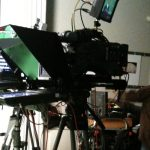 Attached Tripo Teleprompter