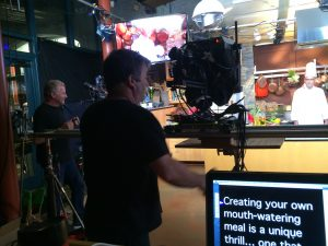 On-Camera Dana Dolly Teleprompter