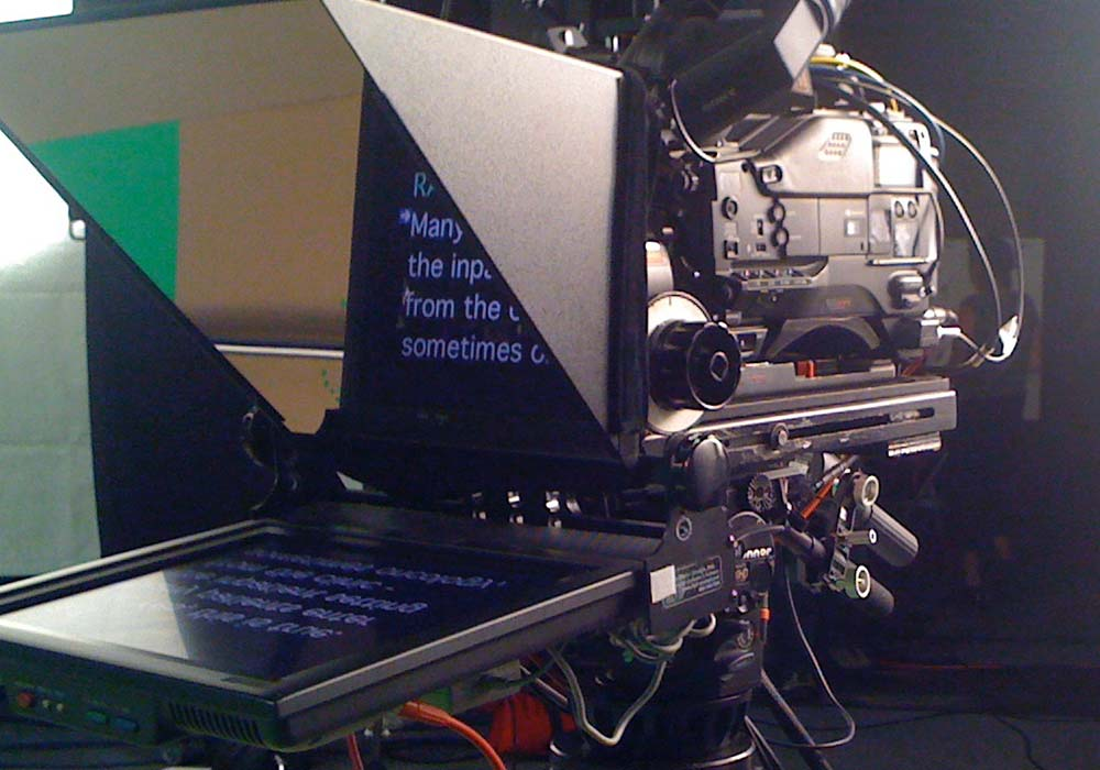 On-Camera Prompters